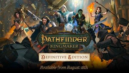 Pathfinder Kingmaker: Definitive Edition - Konsolen Launch Trailer (Deutsch) 2020