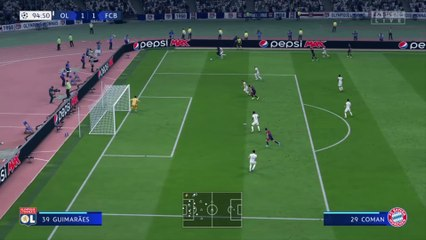 OL - Bayern Munich : notre simulation FIFA 20 (Ligue des Champions 1/2 finale)