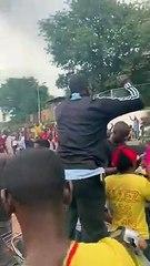 Mali : Liesse de joie après l'arrestation de  Ibrahim Boubacar Keïta par des militaires