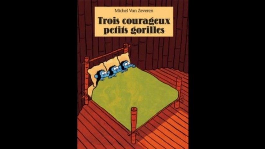 Trois courageux petits gorilles