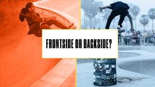 Either, Or: Do Skateboarders Prefer Frontside or Backside?