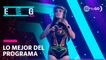 """EEG 2020: Rosángela Espinoza retó a Carloncho en """" No digas sí, no digas no"""""""
