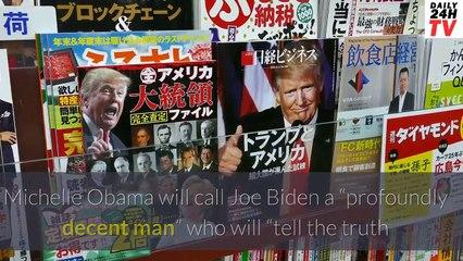 Michelle Obama to call Joe Biden 'profoundly decent man' in DNC speech