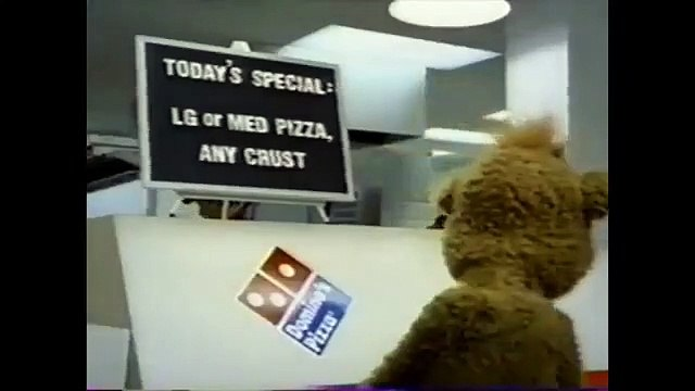 Domino's Pizza: Bad Andy; Good Pizza - Big Man Trouserz (2000)