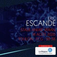 L'essai d'Eric Escande contre Toulon, saison 2020-2021
