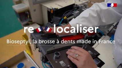 La seule  brosse à dents 100 % made in France