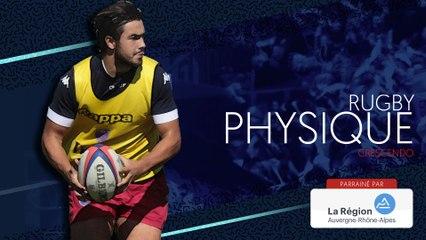 Séance de rugby physique