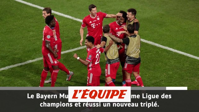 Le Bayern champion d'Europe - Foot - C1