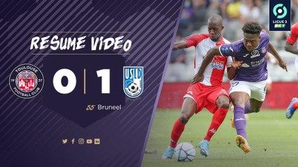 Le résumé vidéo de TFC/Dunkerque, première journée de Ligue 2 BKT