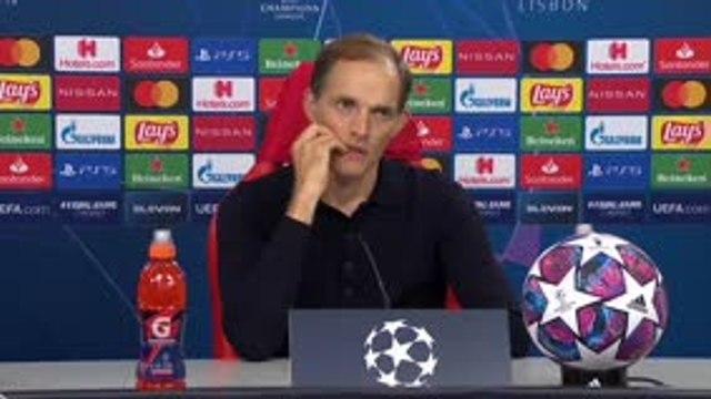 """Finale - Tuchel : """"Un plaisir d'avoir eu un capitaine comme Thiago Silva"""""""