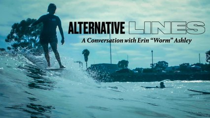 """A Conversation With Erin """"Worm"""" Ashley"""