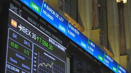 El Ibex 35 se acerca a los 7.100 puntos tras subir un 0,72 %