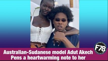 F78NEWS: Runtown's Girlfriend Adut Akech Pens Lovely Note On His Birthday. #F78News #Runtown #AdutAkech