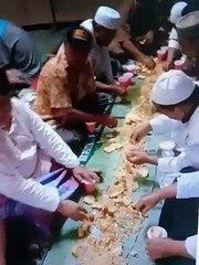 Tradisi Makan Saprahan di Pontianak untuk Sambut Tahun Baru Islam