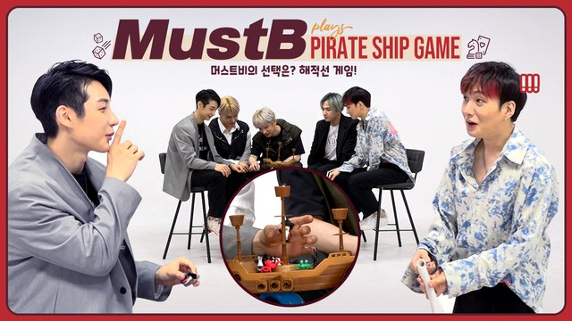 [Pops in Seoul] Realize!♬ Today's game♟ for MUSTB(머스트비) - 'Pirate ship!!⛵'