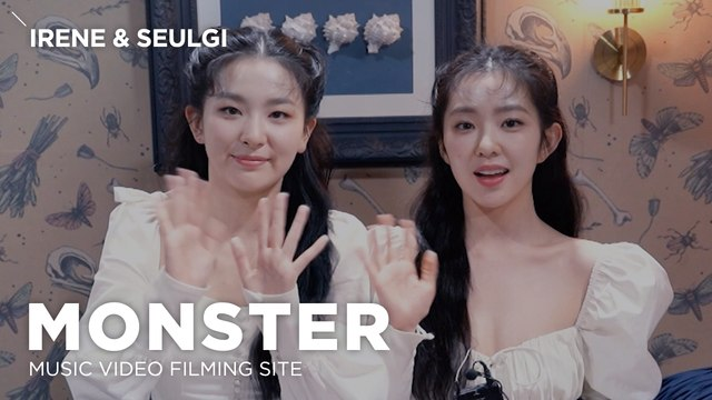 [Pops in Seoul] Monster!‍ Red Velvet – IRENE & SEULGI(레드벨벳-아이린&슬기)'s MV Shooting Sketch