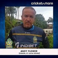 #CPL20 Special - Question Of The Day With St Lucia Zouks' Coach Andy Flower