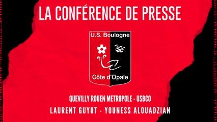 [NATIONAL] J1 Conférence de presse avant match QRM - USBCO