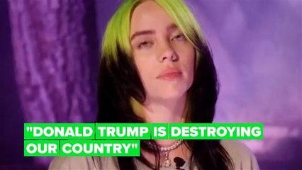 Watch Billie Eilish destroy Trump in DNC speech