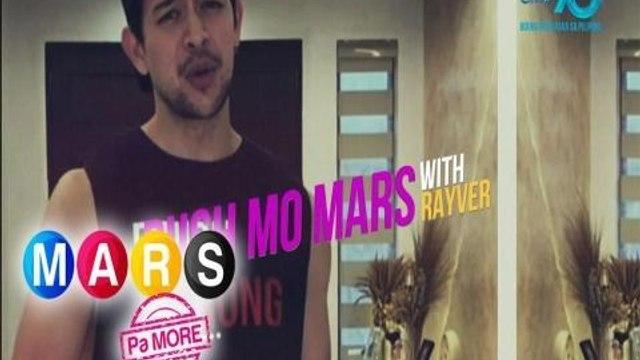 Mars Pa More: Boxing training at home with Rayver Cruz | Push Mo Mars