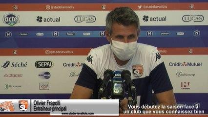 (J01) Orléans vs Laval, le point presse avec Olivier Frapolli