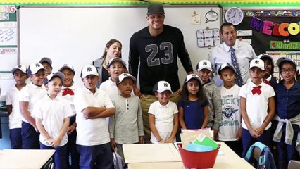 Get to know Dellin Betances - a big man with a big heart