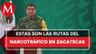 Zacatecas es un nudo de comunicaciones en rutas de drogas y armas: Sedena