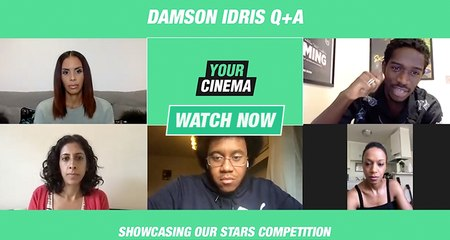 'There's so much rejection at the beginning' Damson Idris advising emerging actors! | Showcasing Our Stars