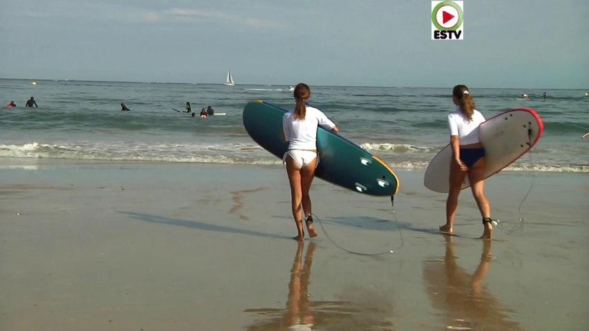 HENDAYE   | Surfing Estival Aout 2020 - Euskadi Surf TV