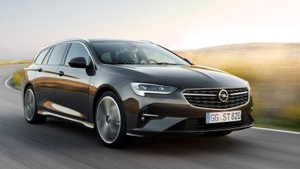 Opel Insignia-Facelift 2020 - Neue Motoren für den Passat-Gegner
