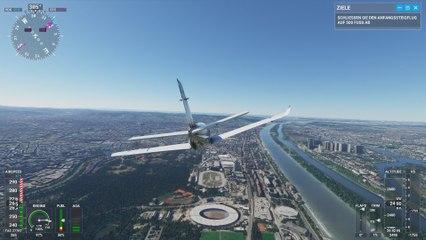 Mit dem Flight Simulator über Österreich