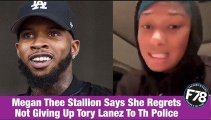 F78NEWS: Megan Thee Stallion Says She Regrets Not Giving Up Tory Lanez To The Police.  #MeganTheeStallion  #ToryLanez  #Kylejenna #CardiB  #wap