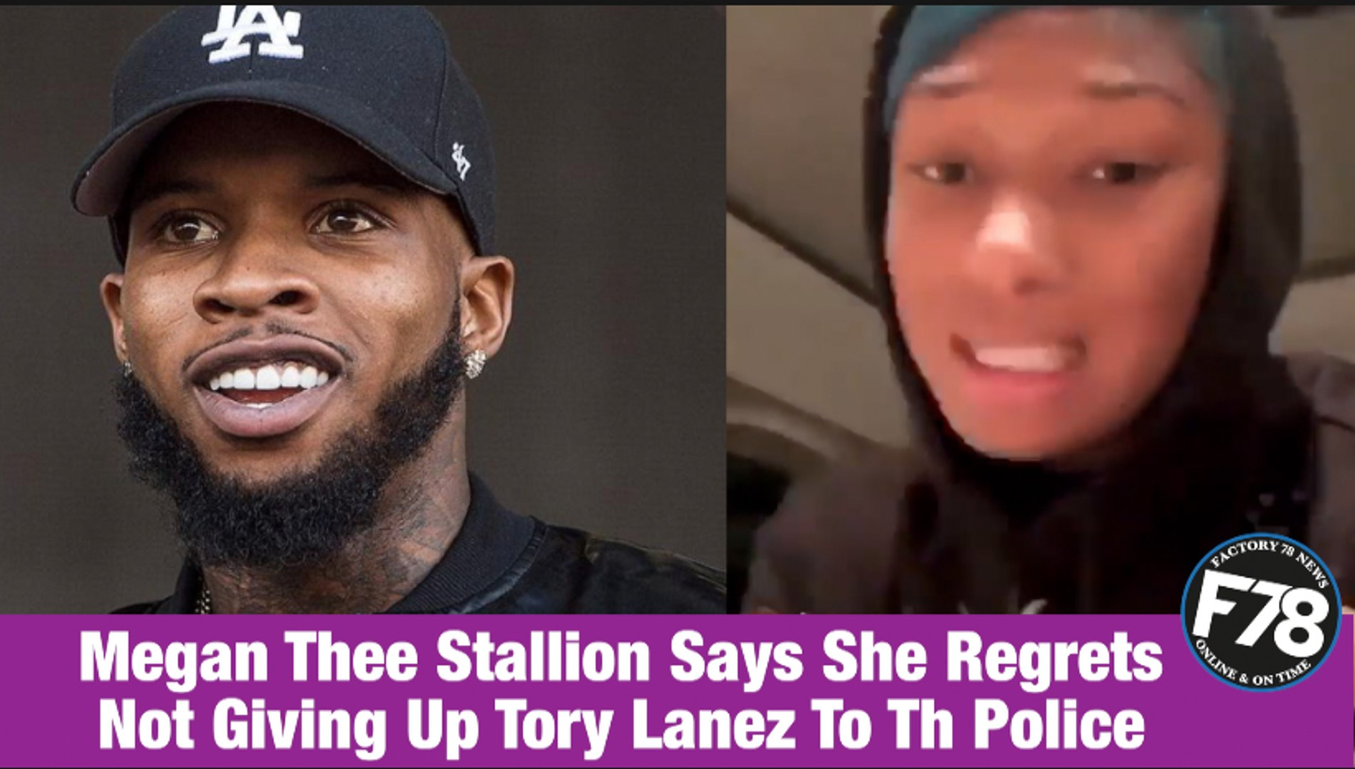 F78news Megan Thee Stallion Says She Regrets Not Giving Up Tory Lanez To The Police Megantheestallion Torylanez Kylejenna Cardib Wap Video Dailymotion