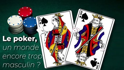 La masculinité dans le poker
