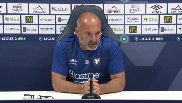 J1 Ligue 2 BKT : La conférence de presse avant Clermont Foot / SMCaen
