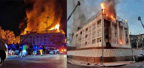 En Marbella: Un fallecido y nueve heridos en el incendio de un hotel, el mismo que fue atacado con una granada en 2017