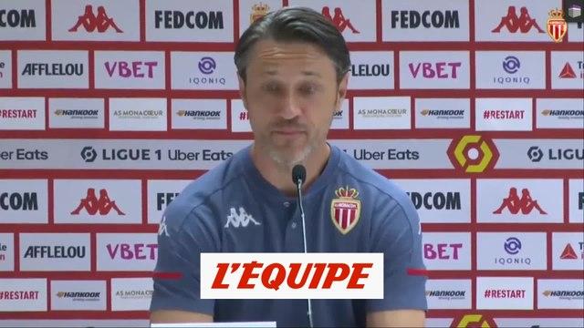 Kovac (Monaco) sur le coronavirus: «On n'a pas de craintes» - Foot - L1 - Monaco