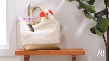 Make a DIY Canvas Tote Bag