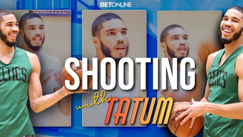 JAYSON TATUM Shooting Drills from Inside the NBA Orlando Bubble - Celtics Practice