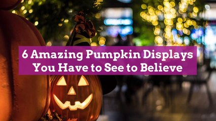 6 Amazing Pumpkin Displays You Have to See to Believe