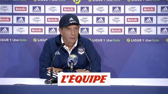 Gasset : «On a été irréprochables» - Foot - L1 - Bordeaux