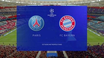 PSG vs Bayern Munich - ⚽UEFA Champions League Final 2020 - CPU Prediction