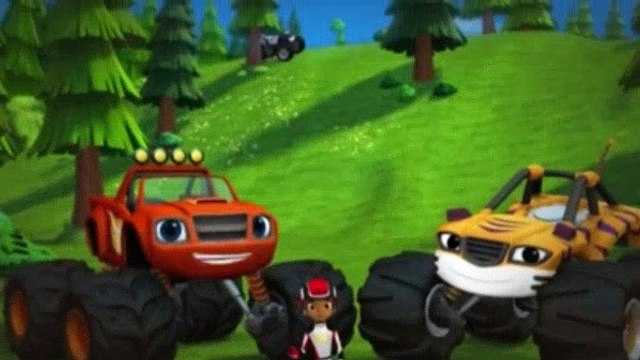 Blaze and the Monster Machines Season 1 Episode 1,2 Blaze of Glory The Driving Force