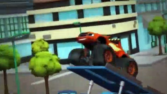 Blaze and the Monster Machines Season 1 Episode 3 The Driving Force