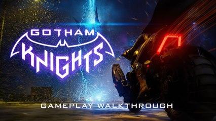 Gotham Knights - Official Gameplay Walkthrough (2021)