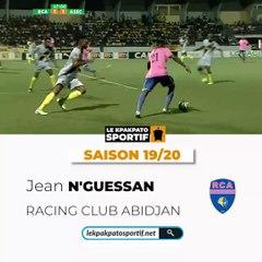 N'Guessan Kouadio Jean, Espoir de la saison 2019 - 2020