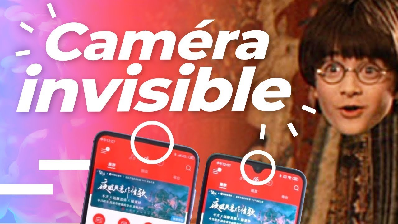 Caméra SOUS L'ECRAN : Vers la FIN des encoches ?