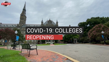 COVID-19: Colleges Reopening
