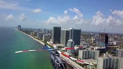 Un drone frôle un hélicoptère... Drame évité de peu