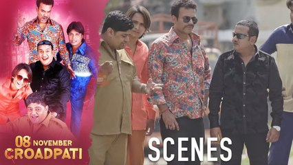 08 November Croadpati Movie Scenes | Gullu Dada & Aziz Naser Searching for Robbers | Silly Monks